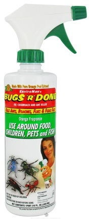 DROPPED: EnviroMan - Bugs R' Done Insect Spray Orange Fragrance - 16 oz.