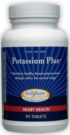 DROPPED: Enzymatic Therapy - Potassium Plus - 90 Tablets