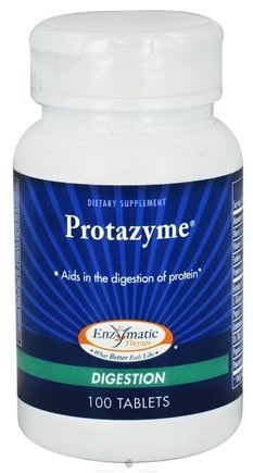 DROPPED: Enzymatic Therapy - Protazyme - 100 Tablets