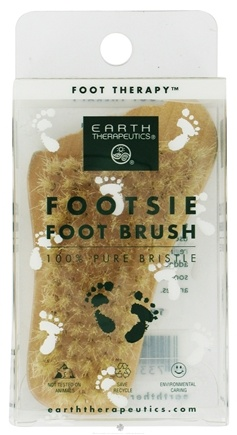 DROPPED: Earth Therapeutics - Footsie Foot Brush - CLEARANCE PRICED
