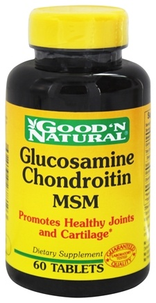 Good 'N Natural - Glucosamine Chondroitin MSM - 60 Tablets