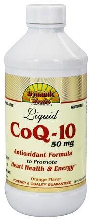 DROPPED: Dynamic Health - Liquid CoQ-10 Orange 50 mg. - 8 oz.