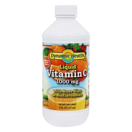 Dynamic Health - Liquid Vitamin C 1000 mg. - 8 oz.