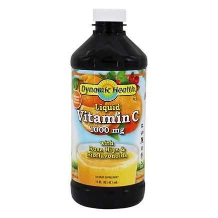 Dynamic Health - Liquid Vitamin C 1000 mg. - 16 oz.