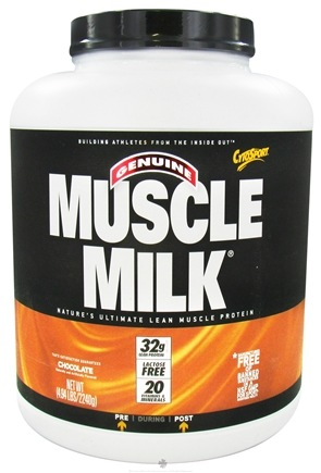 DROPPED: Cytosport - Muscle Milk Genuine Nature's Ultimate Lean Muscle Protein Chocolate - 4.94 lbs.
