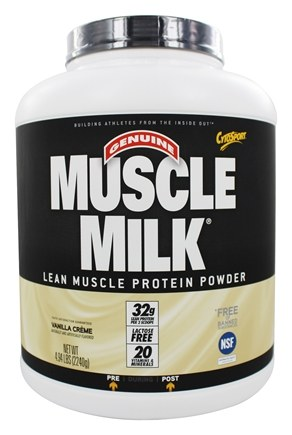 Cytosport - Muscle Milk Genuine Nature's Ultimate Lean Muscle Protein Vanilla Creme - 4.94 lbs.