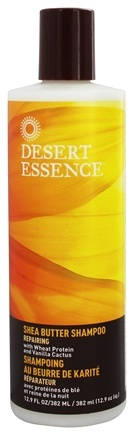 DROPPED: Desert Essence - Shea Butter Shampoo - 12.9 oz.