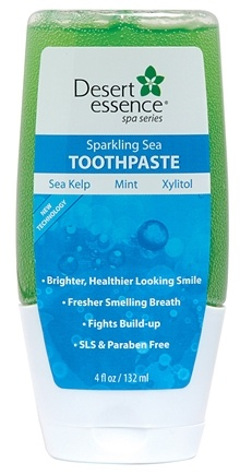 DROPPED: Desert Essence - Sparkling Sea Toothpaste - 4 oz.