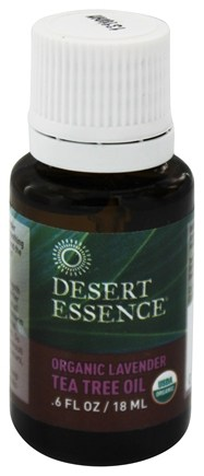 Desert Essence - Organic Lavender Tea Tree Oil - 0.6 oz.