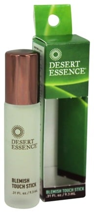 Desert Essence - Tea Tree Blemish Touch Stick - 0.31 oz.