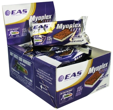 DROPPED: EAS - Myoplex Lite Protein Bar Cinnamon Roll Crisp - 1.9 oz.