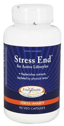 Enzymatic Therapy - Stress End for Active Lifestyles - 90 Vegetarian Capsules