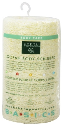 Earth Therapeutics - Loofah Body Scrubber - 5 inches