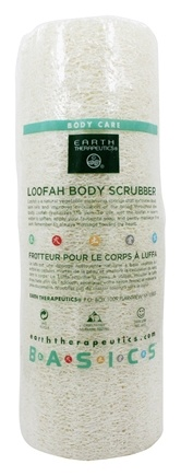 Earth Therapeutics - Loofah Body Scrubber - 7 inches