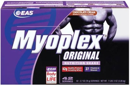 DROPPED: EAS - Myoplex Original Powder Chocolate Cream - 42 Packet(s)