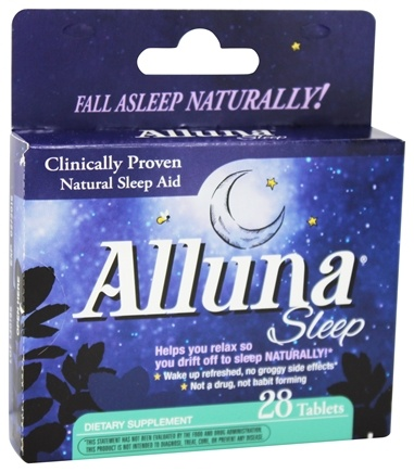 DROPPED: Enzymatic Therapy - Alluna Sleep - 28 Tablets