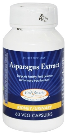 Enzymatic Therapy - Asparagus Extract - 60 Vegetarian Capsules