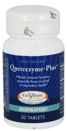 DROPPED: Enzymatic Therapy - Quercezyme-Plus - 50 Tablets CLEARANCE PRICED