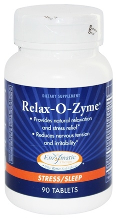 Enzymatic Therapy - Relax-O-Zyme - 90 Tablets