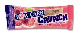 DROPPED: Genisoy - Protein Crunch Bar - Low Carb Bar Raspberry - 1.58 oz.