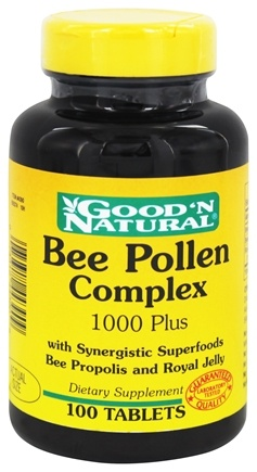 DROPPED: Good 'N Natural - Bee Pollen Complex 1000 Plus - 100 Tablets