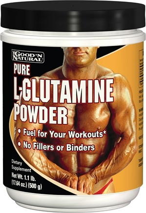 Good 'N Natural - L-Glutamine Powder 4500 mg. - 1.1 lbs.