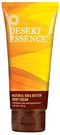 DROPPED: Desert Essence - Natural Shea Butter Body Cream - 6 oz. CLEARANCE PRICED