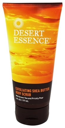 DROPPED: Desert Essence - Exfoliating Shea Butter Body Scrub - 6 oz. LUCKY PRICE