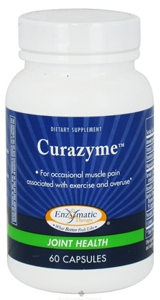 DROPPED: Enzymatic Therapy - Curazyme - 60 Capsules CLEARANCE PRICED