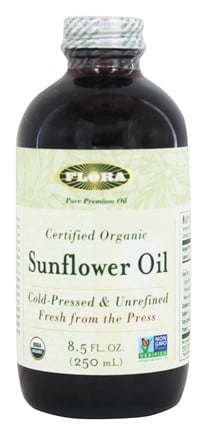 Flora - Sunflower Oil Certified Organic - 8.5 oz.