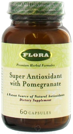 DROPPED: Flora - Super Antioxidant with Pomegranate - 60 Capsules