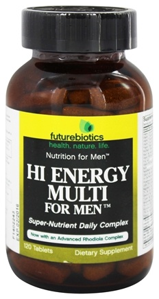 Futurebiotics - Hi Energy Multivitamin For Men - 120 Tablets
