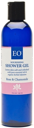 DROPPED: EO Products - Shower Gel Rose & Chamomile - 8 oz.