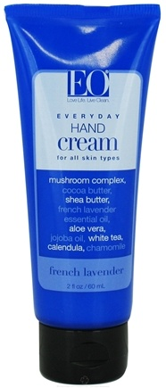 DROPPED: EO Products - Hand Cream Travel Size French Lavender - 2 oz. CLEARANCE PRICED