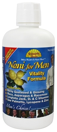 Dynamic Health - Noni For Men Vitality Formula - 32 oz.