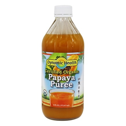 Dynamic Health - Papaya Puree Natural - 16 oz.