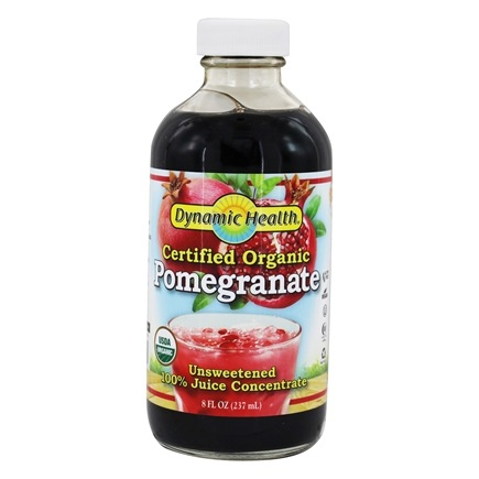 Dynamic Health - Juice Concentrate 100% Pure Pomegranate - 8 oz.