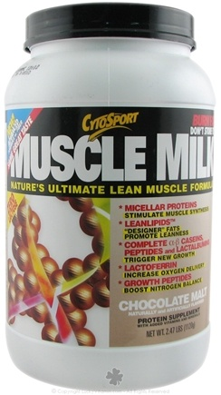 DROPPED: Cytosport - Muscle Milk Ultimate Lean Muscle Formula Chocolate Malt - 2.47 lbs. CLEARANCE PRICED