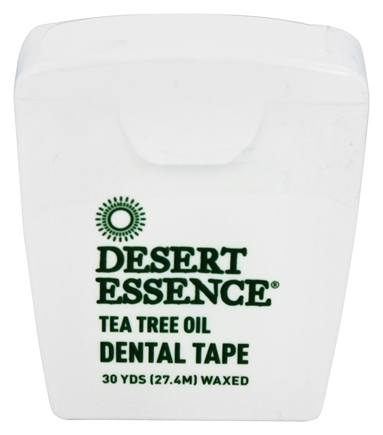 Desert Essence - Tea Tree Oil Dental Tape Waxed - 30 Yard(s) LUCKY PRICE