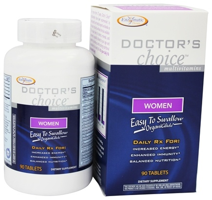Enzymatic Therapy - Doctor's Choice Multivitamins For Women - 90 Tablets