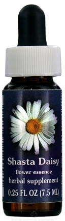 DROPPED: Flower Essence Services - Shasta Daisy Flower Essence - 0.25 oz. CLEARANCE PRICED