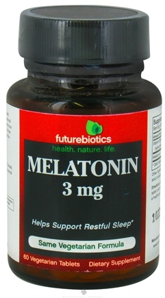 DROPPED: Futurebiotics - Melatonin 3 mg. - 60 Tablets ClEARANCE PRICED