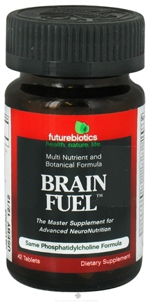 DROPPED: Futurebiotics - Brain Fuel Multi Nutrient and Botanical Formula - 42 Tablets CLEARANCE PRICED