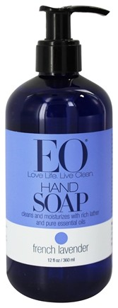 EO Products - Hand Soap French Lavender - 12 oz.