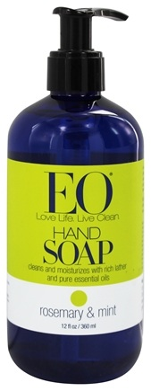 DROPPED: EO Products - Liquid Hand Soap Rosemary & Mint - 12 oz.