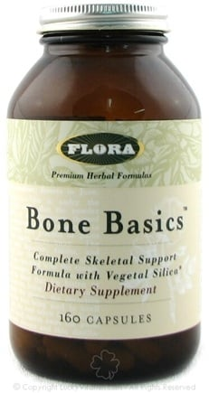 DROPPED: Flora - Bone Basics CLEARANCE PRICED - 160 Capsules