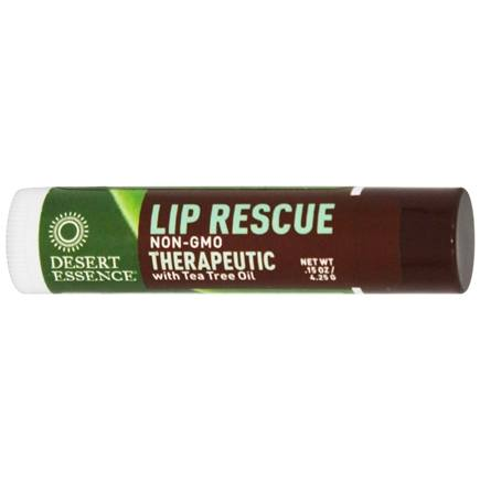 Desert Essence - Lip Rescue Therapeutic with Tea Tree Oil - 0.15 oz. LUCKY PRICE