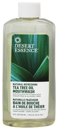 Desert Essence - Natural Refreshing Tea Tree Oil Mouthwash - 8 oz. LUCKY PRICE