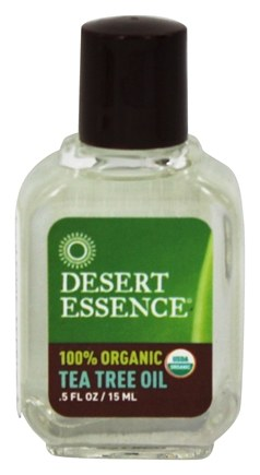 Desert Essence - Tea Tree Oil 100% Organic - 0.5 oz.