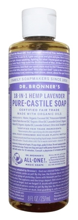 Dr. Bronners - Magic Pure-Castile Soap Organic Lavender - 8 oz.